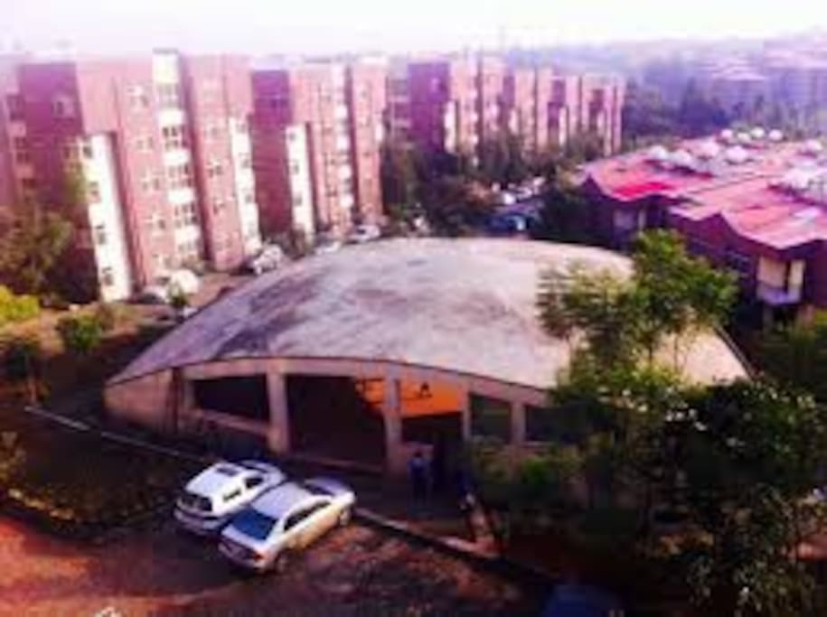 Flintstone homes compound-inside facilities