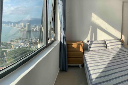 Blue Ocean view from your bed and balcony