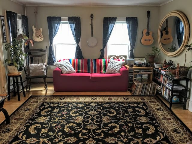 Eclectic home, spacious room in BTV Old North End - Burlington - Pis