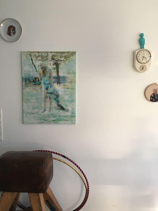 Esszimmer Wand