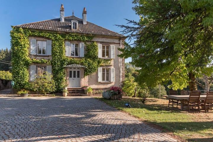 Gite de charme **** avec piscine, Vosges du Sud
