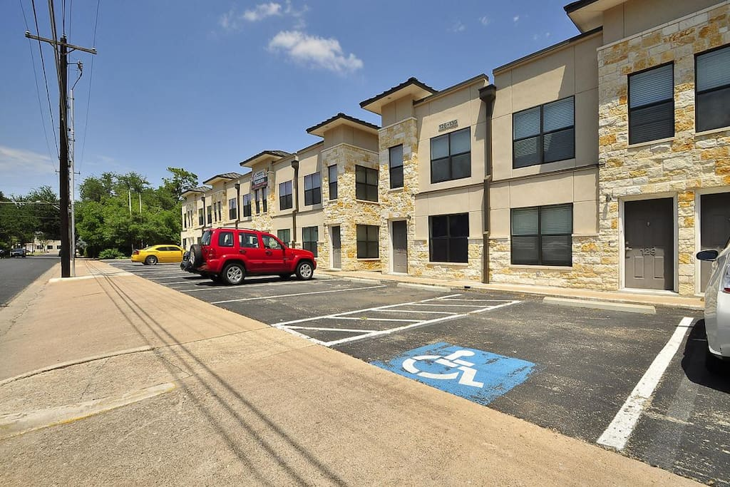 50 unit apartment complex, two blocks away from Lamar Blvd