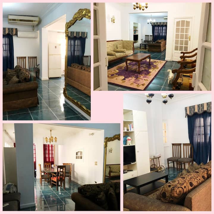 Available room in Heliopolis secure and green area