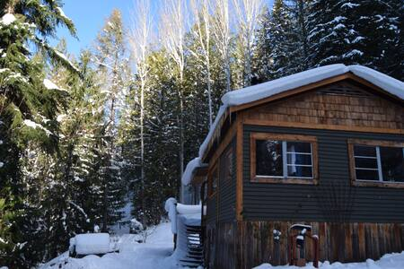 Cozy Kootenay Cabin, just above town. - Nelson