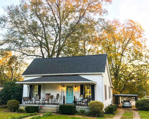 Blue Haven Cottage Near Downtown and Swamp Rabbit