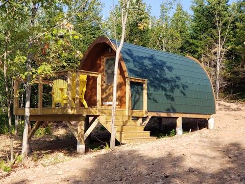 Hummingbird Pod at Sally's Brook Wilderness Cabins