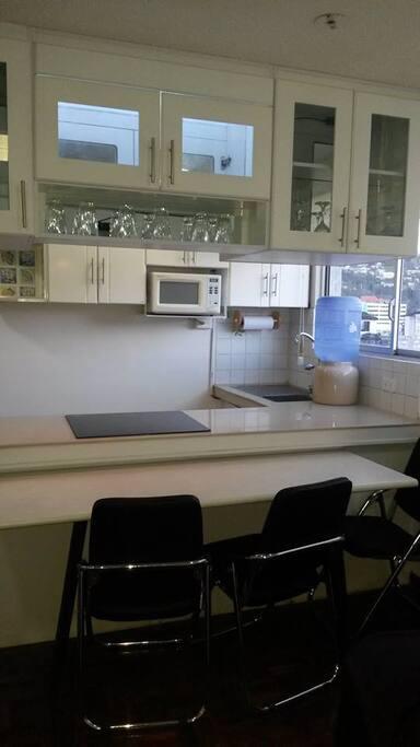 Area de cocina -comedor