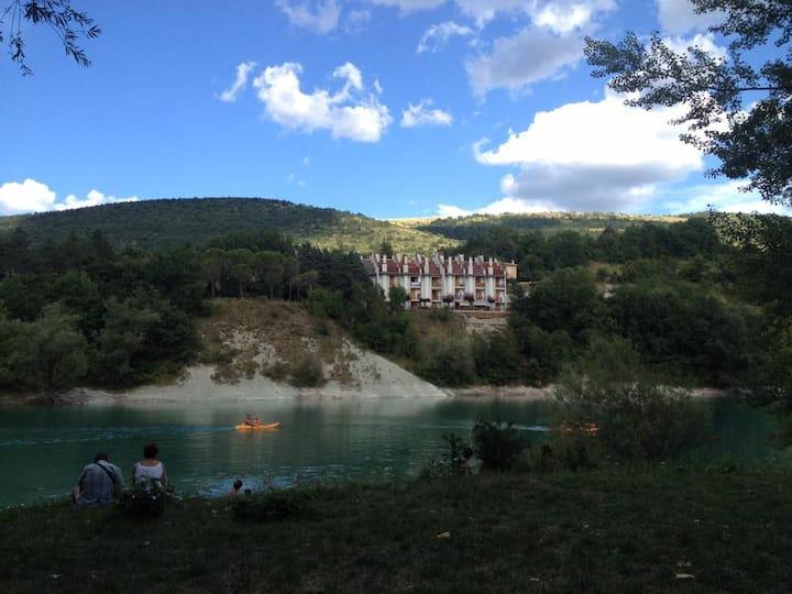 Appartamento con splendido panorama