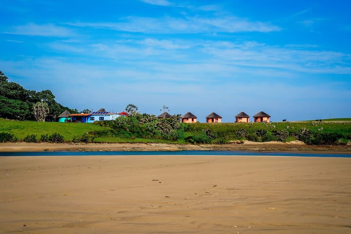 Double Room in the Wiild Coast - Xhosa EcoLodge