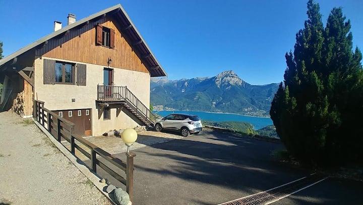 Maison familiale 8 places avec vue panoramique