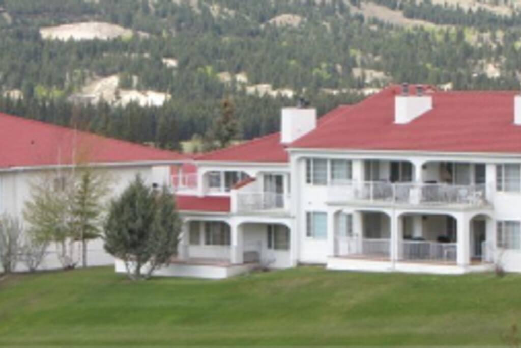 View of Condo Building