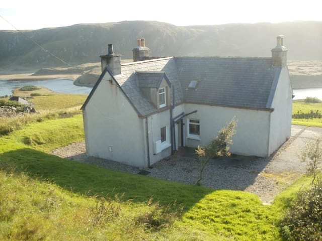 Croft house, Bettyhill, Sutherland