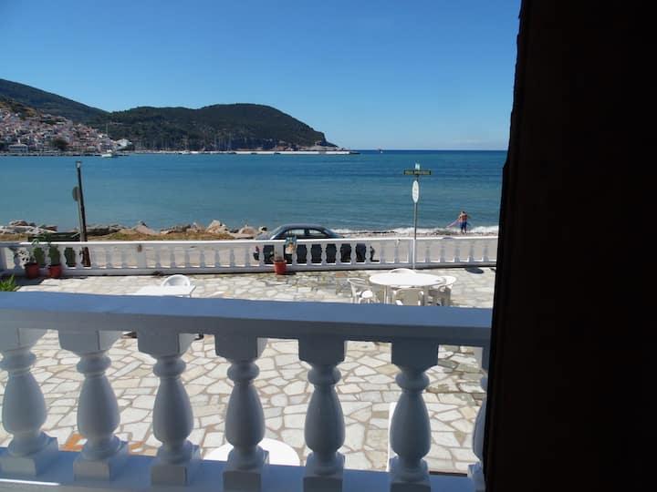 Villa Apostolis Studios--Seaview/Balcony