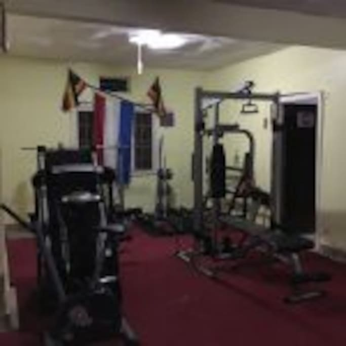 Gym for free use