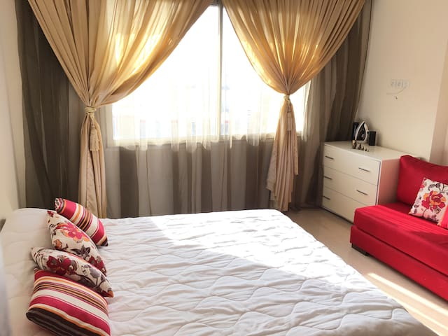 Beautiful flat in downtown Rabat (5min to Tramway)