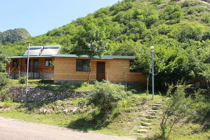 Forest Family Chalet with View to Tatev Monastery