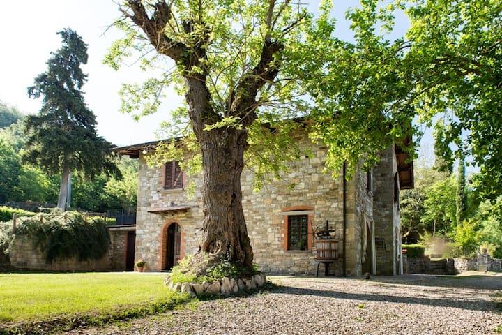 Villa nel cuore della Toscana
