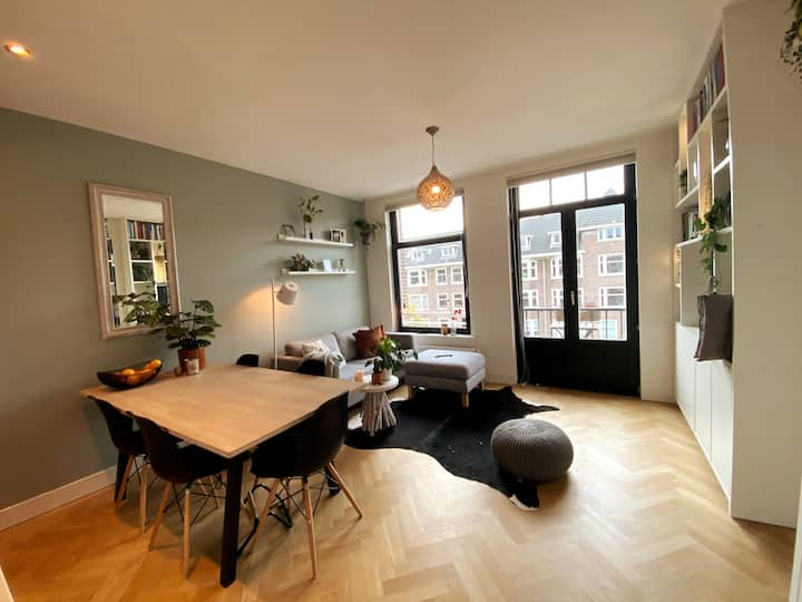 Beautiful apartment with balcony near Vondelpark