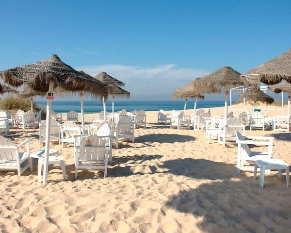 Esplanada na Praia