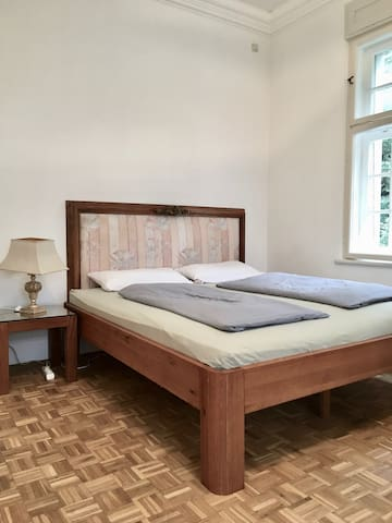 Large double bed - sleeping like royals  in Bavaria