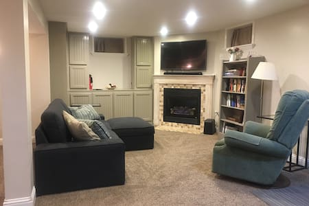 Cozy private full basement apt - Midvale - Dom
