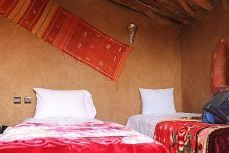 Tripleroom - Authentic Saharan Guesthouse - Mhamid - Chambres d'hôtes