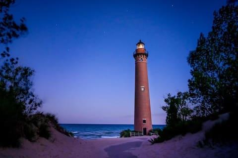 Lake Michigan Beach and Dunes Loft
