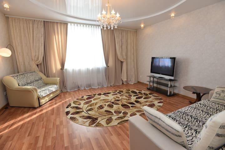 """2к апартаменты,около стадион """" Арена"""",ТРЦ Алатырь."""