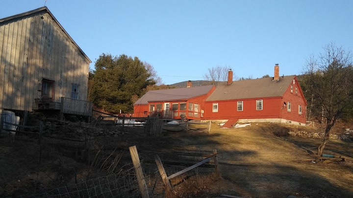 Art Studio in a White Mountain Antique Barn