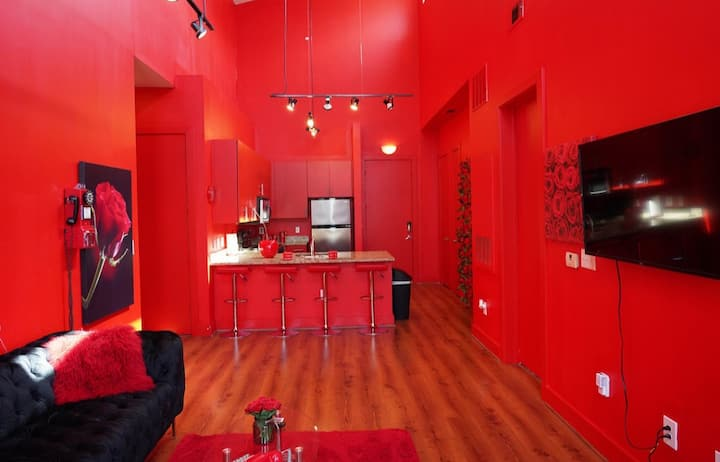 Vogue's Red Loft in Atlanta