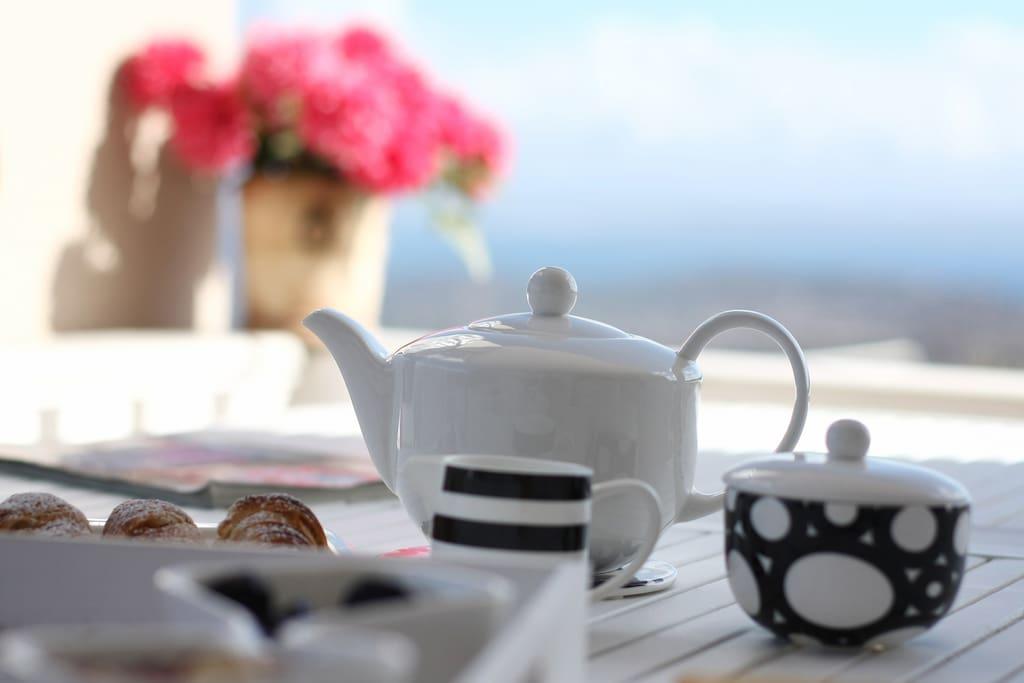 Porcelane to enjoy great breakfast moments