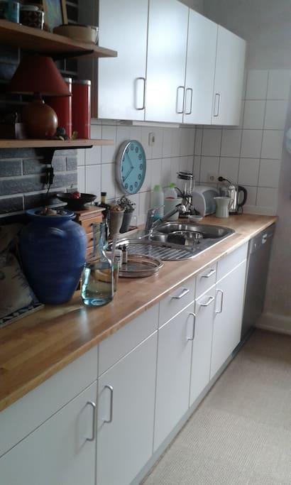 Küche zur Mitbenutzung