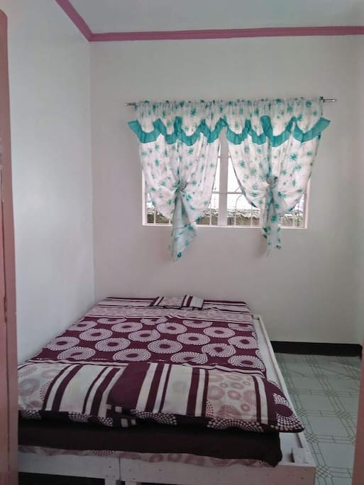 Newly furnished bedroom
