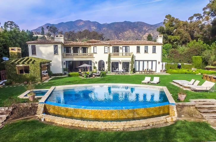 Malibu Maison Luxury Sierra Retreat Villa