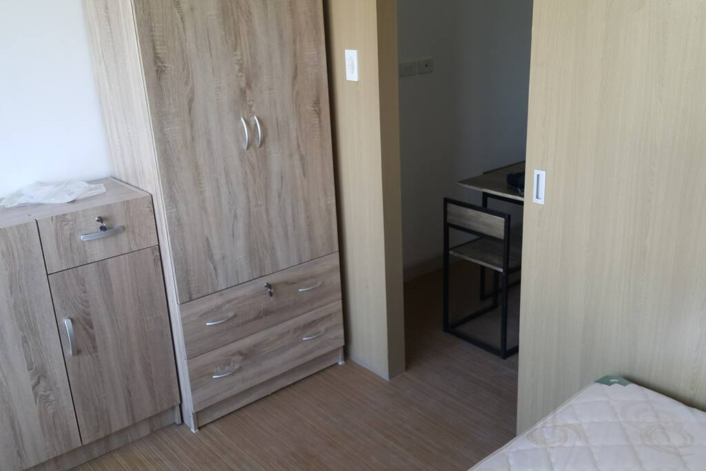 drawers and wardrobes with lock and key