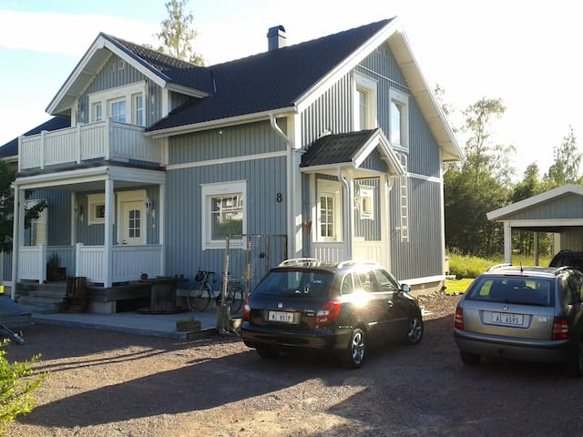 A Room or a House in a quite area near center. - Mariehamn - Dom