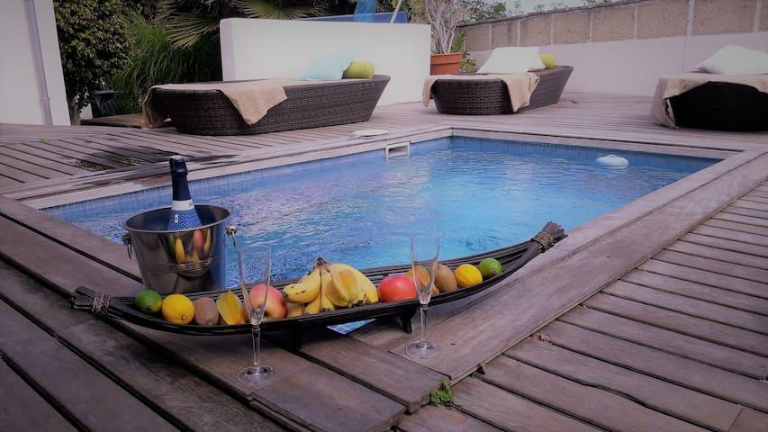 Casa Mar mit Meerblick,privatem Pool y wifi