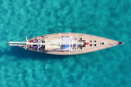 Stanza doppia privata su yacht a vela 26mt. - Tarragona - Boot