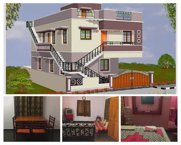 Home away Home_Non AC Pvt room n 2BHK_SRM_ZOHO_MAA