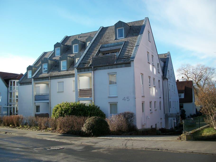 Wohnhaus in unmittelbarer OSK-Klinik Nähe/Stadtnah