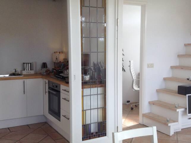 Keuken en werkkamer