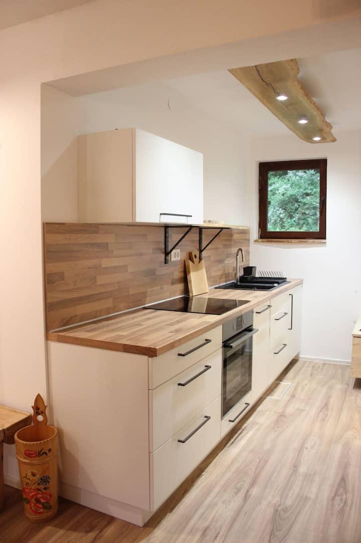 Woodywood studio apartment