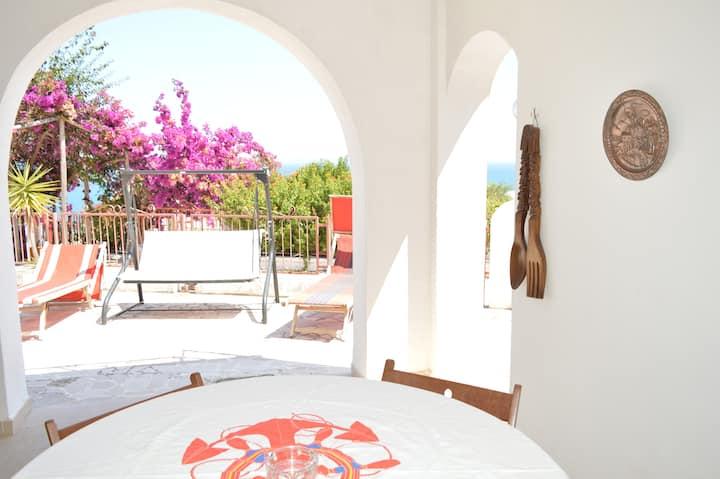 Villa mit Meeresblick