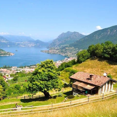 FARMHOUSE  NAROVINA  *1 ISEO LAKE - Sale Marasino - วิลล่า