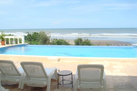Beautiful oceanfront beach property - San Rafael del Sur