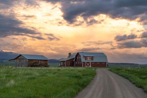 Rural Montana Custom Built Home