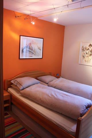 Elternschlafzimmer Bett 160x200