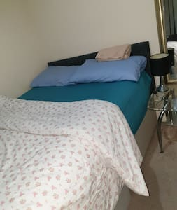 Spacious room double bed. Comfortable