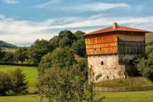 Palacio casa torre medieval de Donamaria