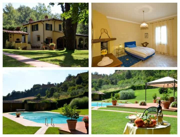 DOUBLE ROOM in Villa with Pool and Garden